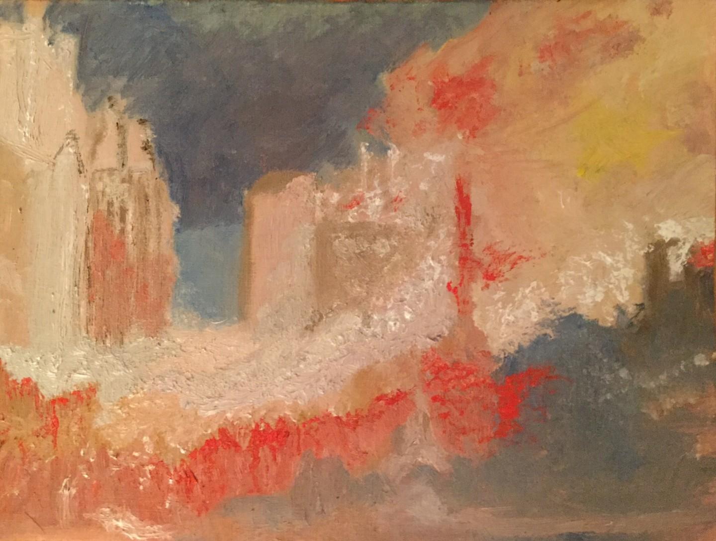 Anne Flora De Negroni - Hommage à Turner 3