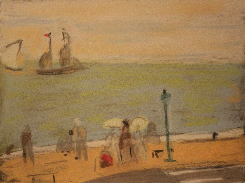 Anne Flora De Negroni - Dessin, un peu de Berthe Morisot