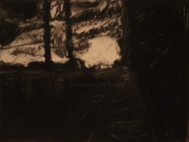 Anne Flora De Negroni - Quelque chose de la forêt l'été