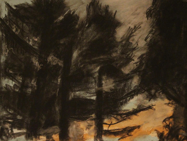 Anne Flora De Negroni - Quelque chose de la forêt l'été II