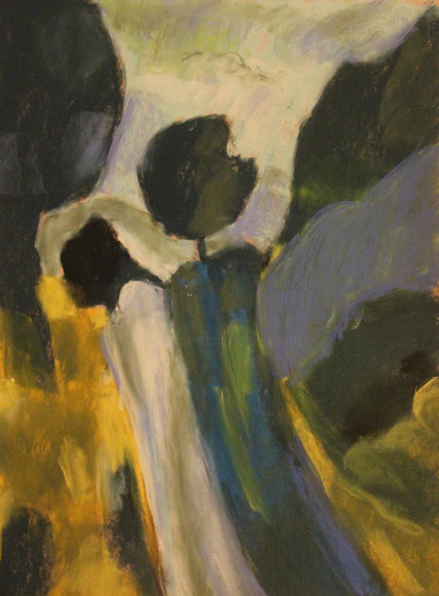 Anne Flora De Negroni - Hommage au peintre Luke Florio