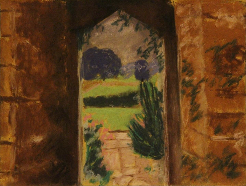 Anne Flora De Negroni - Paysage anglais