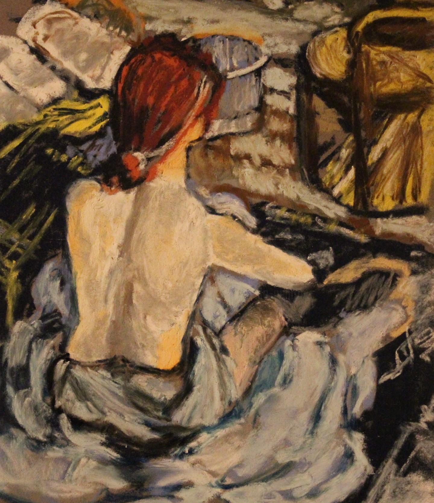 Anne Flora De Negroni - Hommage à Toulouse-Lautrec 2