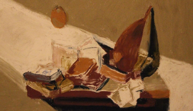 Anne Flora De Negroni - Nature morte aux livres