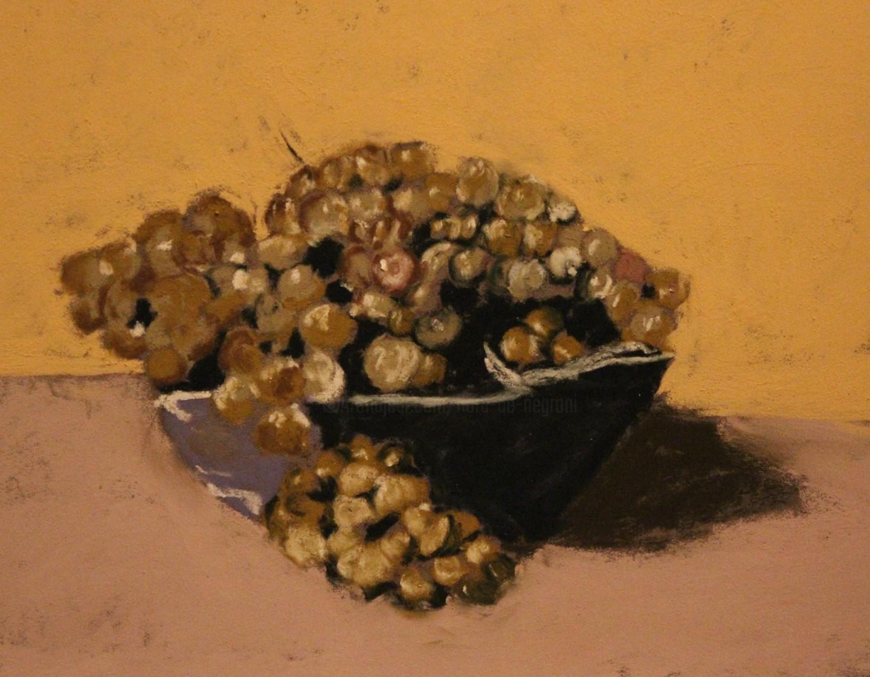 Anne Flora De Negroni - Nature morte aux raisins