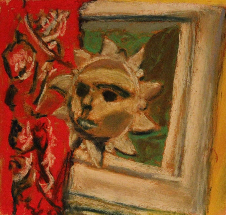 Anne Flora De Negroni - Nature morte au soleil