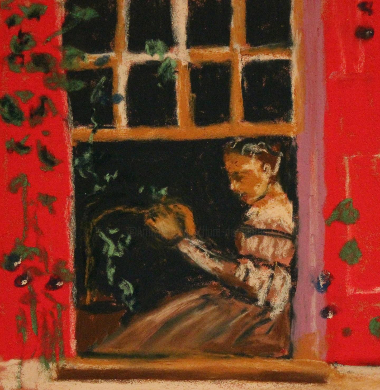 Anne Flora De Negroni - À la fenêtre