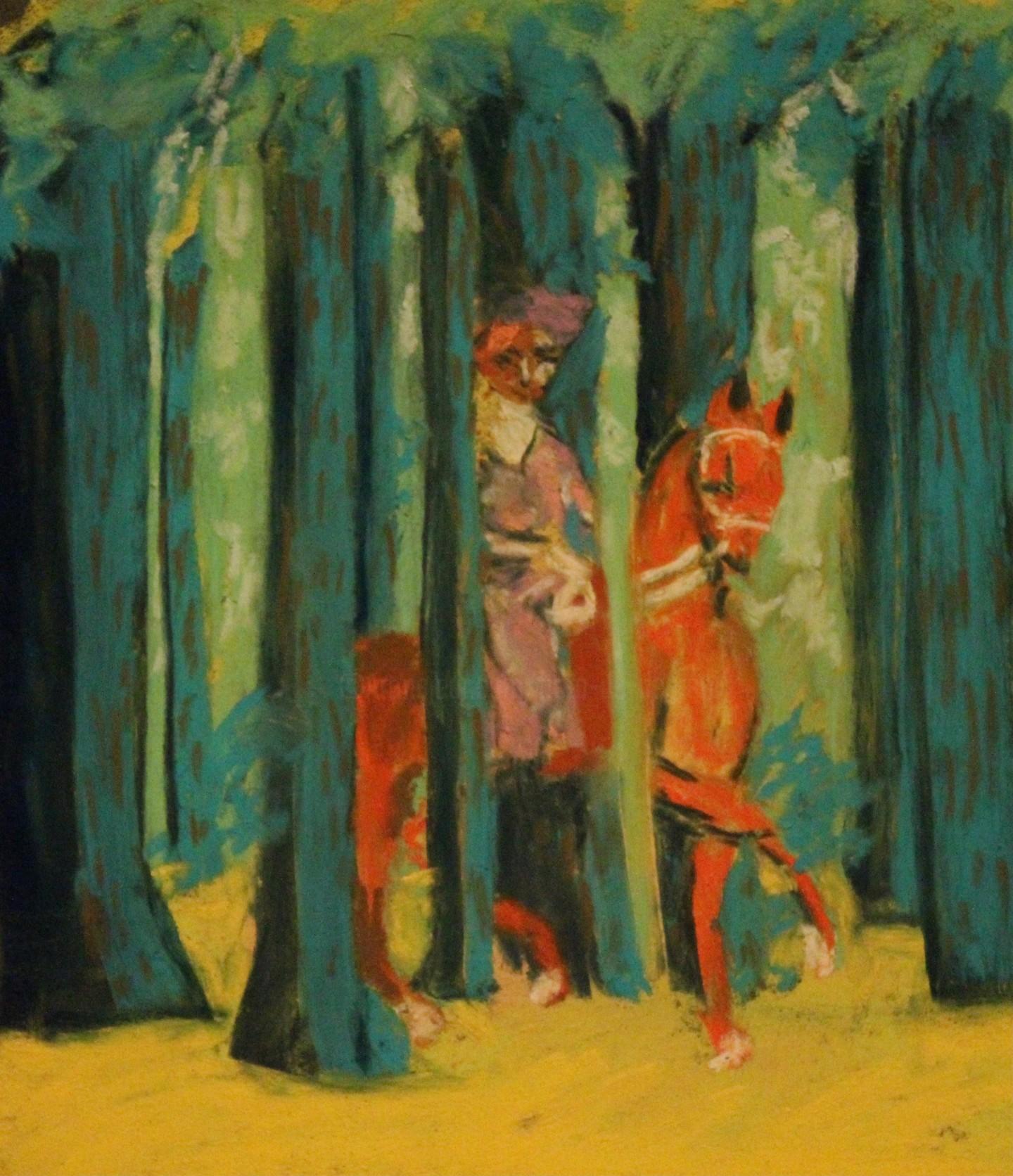 Anne Flora De Negroni - Hommage à Magritte