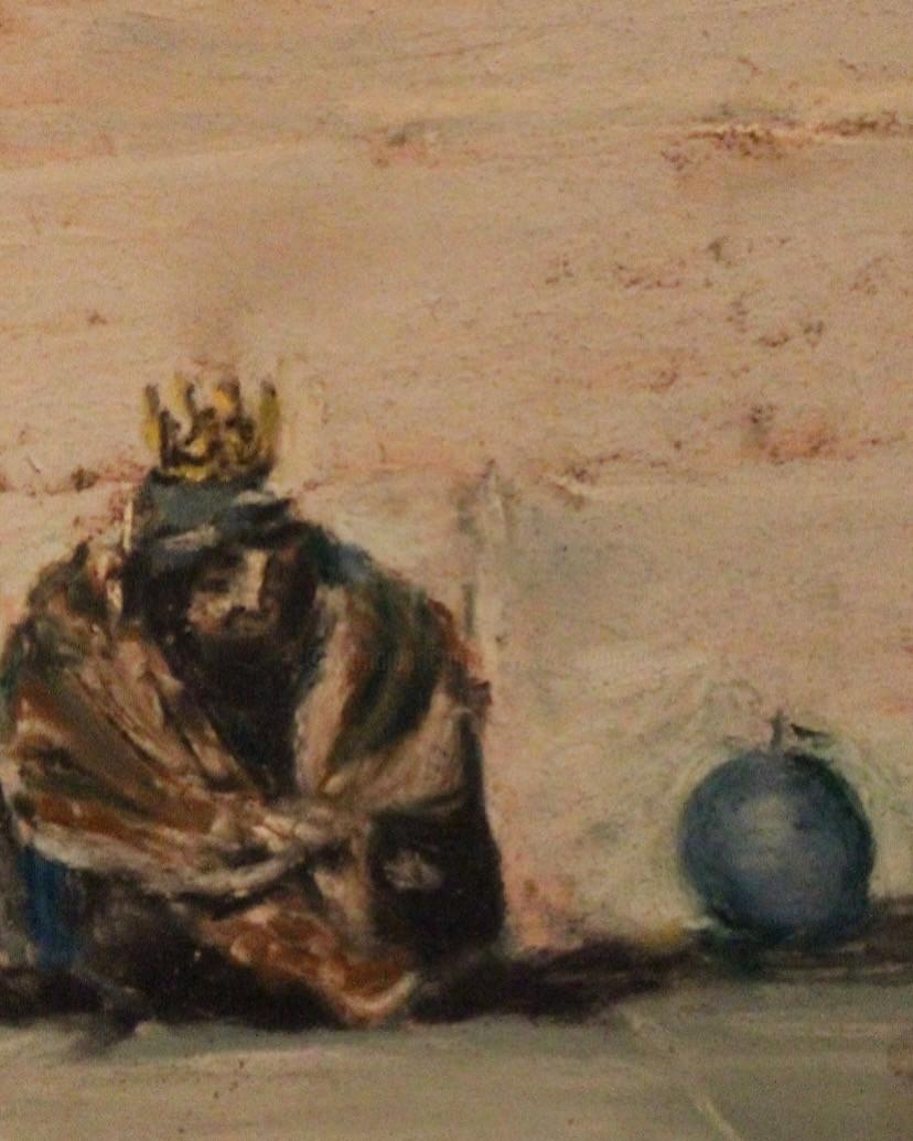 Anne Flora De Negroni - Les pauvres seront des rois, des rois d'humanité , (détail)