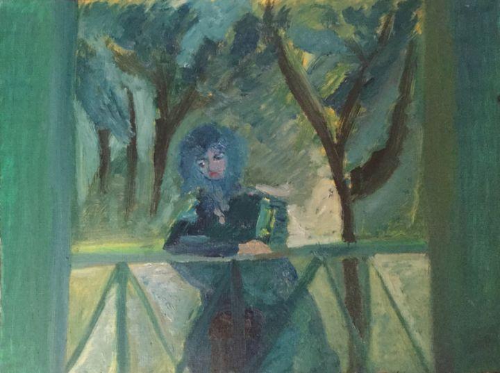 Anne Flora de Negroni - Balcon en forêt