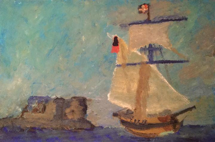 Anne Flora de Negroni - Bateau
