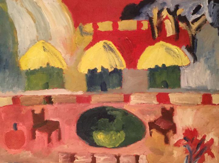Anne Flora de Negroni - Pays imaginaire aux pommes 2