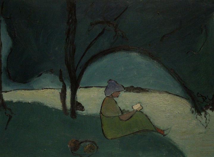 Anne Flora de Negroni - Dessin, hommage à Sérusier